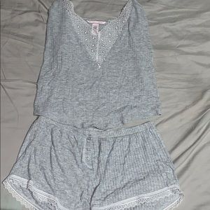 Victoria's Secret grey PJ pajama set